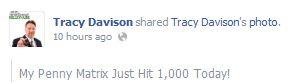 update on facebook