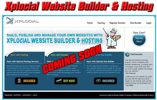 Xp website Builder