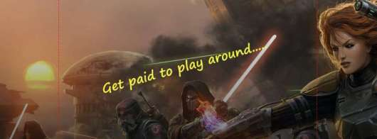 Get paid to play around